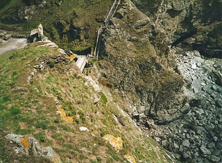 Path to Tintagel Castle