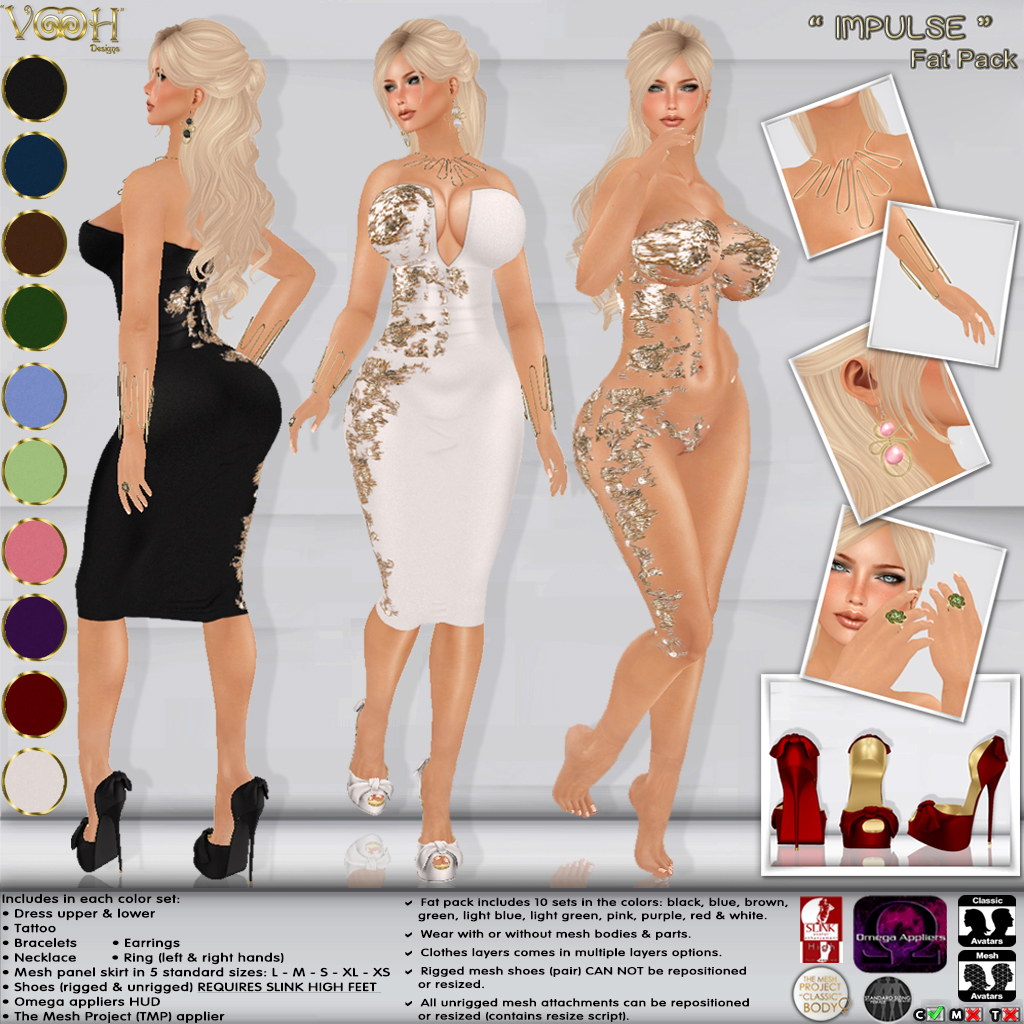 """ VOOH "" NEW RELEASE! IMPULSE - SecondLifeHub.com"