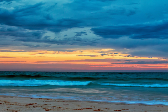 Dawn over Broadbeach