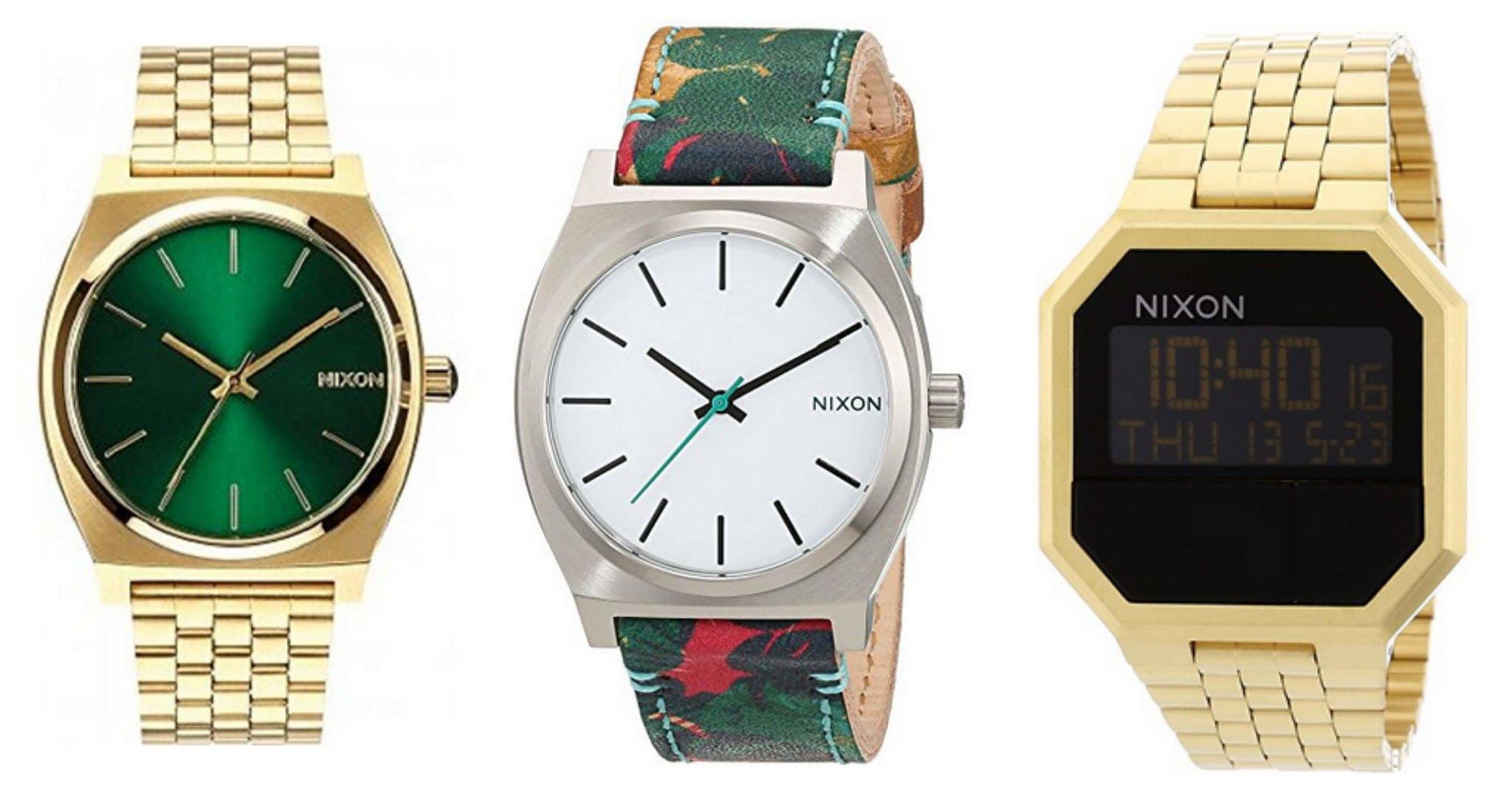 mejores relojes nixon para hombres y mujeres