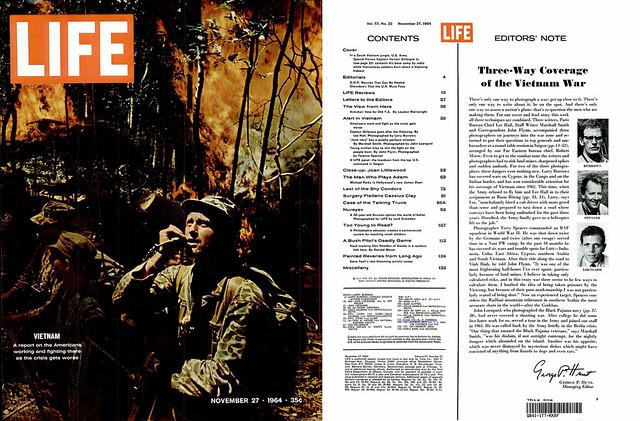 LIFE Magazine November 27, 1964 (1) - Three-Way Coverage of the Vietnam War