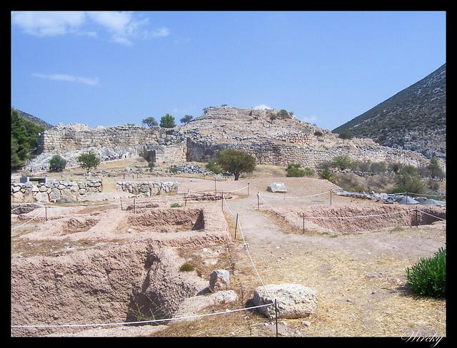 Grecia Atenas Corinto Epidauro Micenas Nauplia - Acrópolis de Micenas