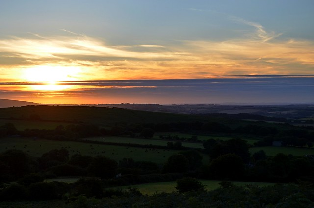 Butterdon Hill Sunset