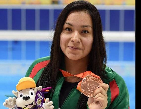 Jessica Hernández gana bronce en natación parapanamericana
