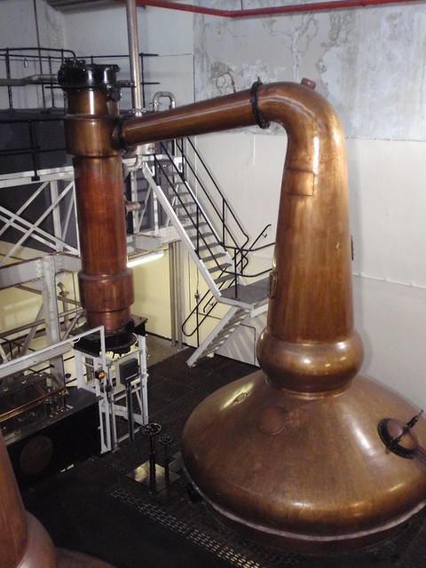 Still at Glenglassaugh distillery