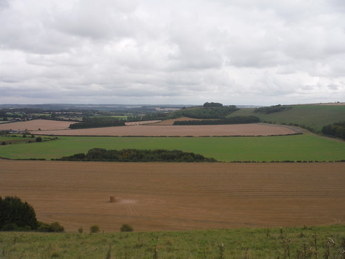 The Chalke Valley from Swallowcliffe Down