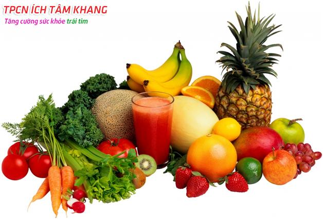 Giảm đau tim với chế độ ăn giàu rau xanh và chất xơ
