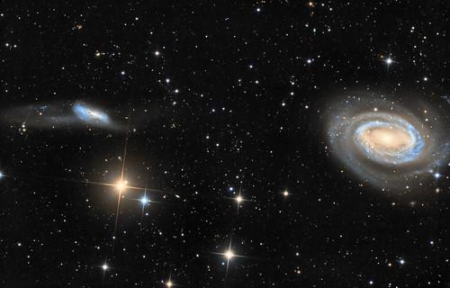 Arp 159 és az NGC 4725