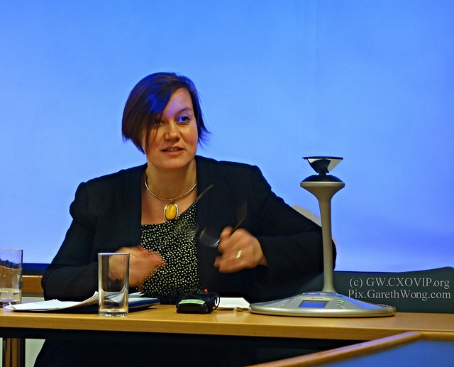 Labour MP Meg Hillier @Meg_HillierMP newly elected chair of Public Accounts Committee from RAW _DSC5915