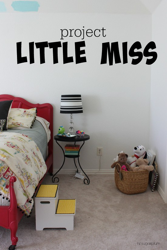 Hi Sugarplum | Girls Room Makeover