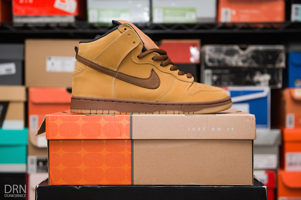 Wheat Dunk High SB's.