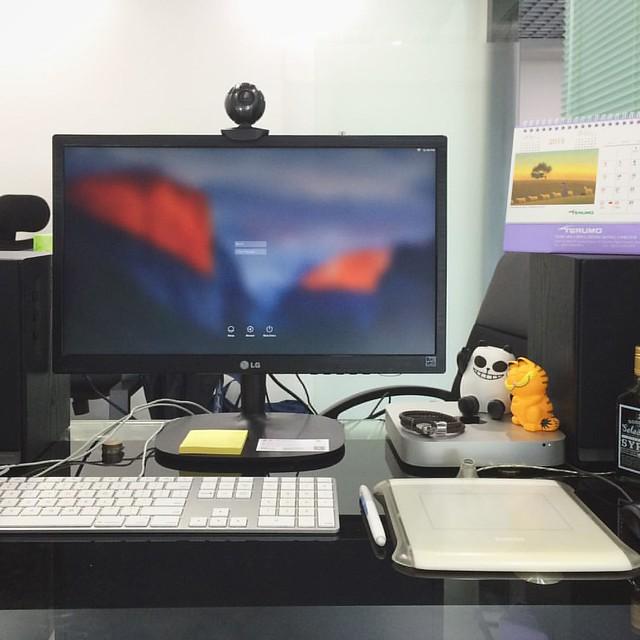 It's now look like my #desktop. #SZ #cwcurrent