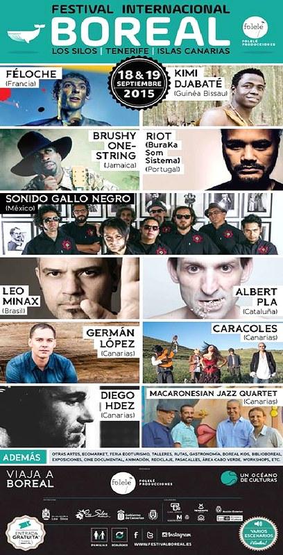 LEO MINAX en el festival BOREAL 2015