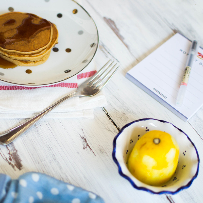 Lemon + Yogurt Pancakes