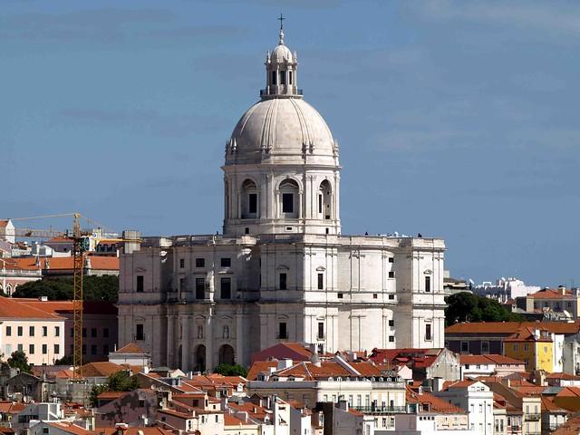 Lisbon  Church of Santa Engrácia E510 125