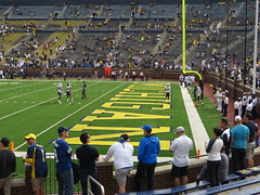 Michigan Stadium, University of Michigan, Ann Arbor, Michigan