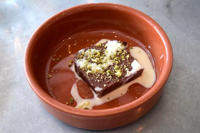 Chocolate Terrine at John Doe, Westbourne Park | www.rachelphipps.com @rachelphipps