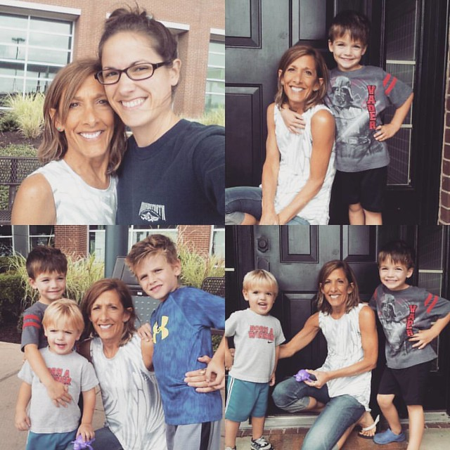 A fun week with my momma ended today. We sure do love her bunches and bunches! #mboys2015