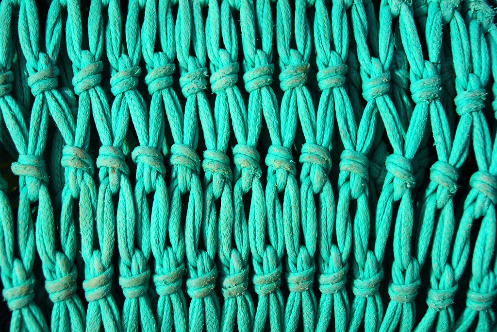 Géométrie turquoise.