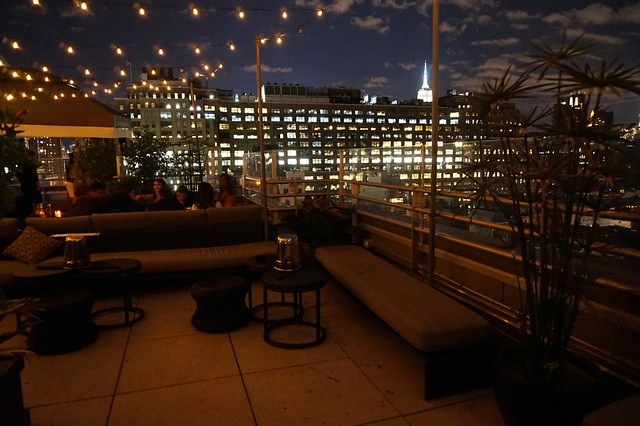 Rooftop Bar of Gansevoort Hotel Meatpacking
