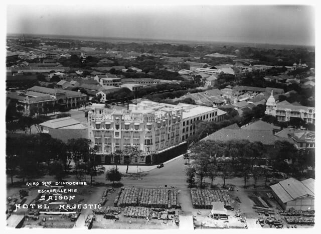 Không ảnh Đông Dương thập niên 1930 - KS Majestic Saigon