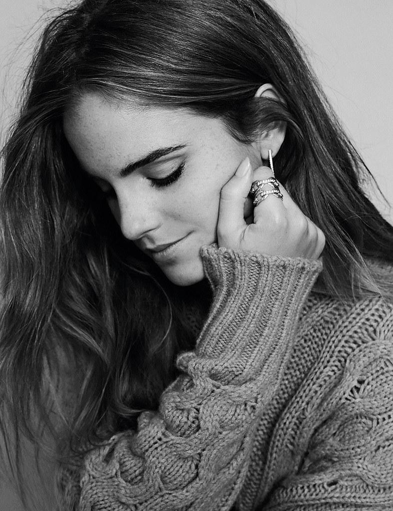 Эмма Уотсон — Фотосессия для «Elle» ES 2015 – 2