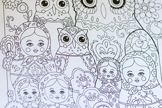 Adult Coloring book - Owls | by m01229