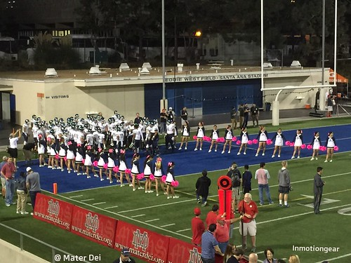 team and cheerleaders