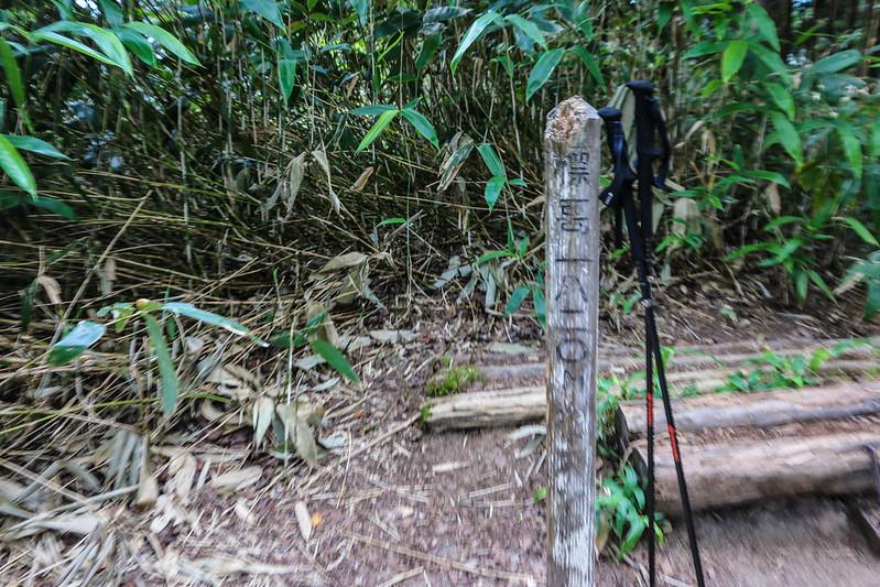 燕岳の第2ベンチ