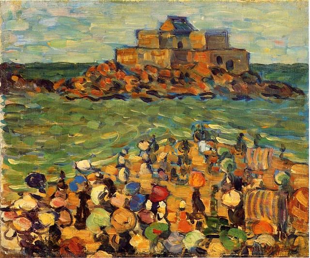 prendergast_chateaubriand_s_tomb_st_malo_also_known_as_st_malo_chateaubriand_s_tomb_c_1907
