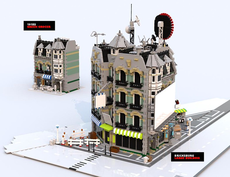 Assembling Bricksburg Lego Town Eurobricks Forums