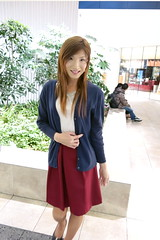Burgundy skirt_2