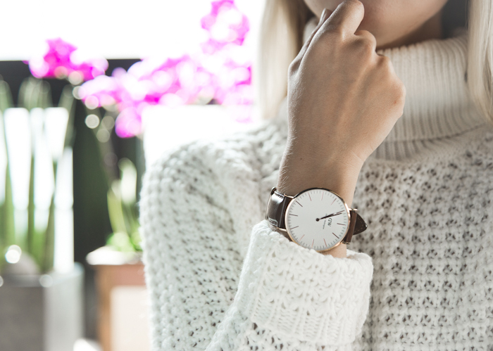 Olga choi fashion blogger myblondegal South Korea elegant smart chic Daniel Wellington Classic Bristol watch 36 mm-08148