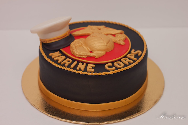 M5cake Cakes And Other Sweets Marine Corps Cake