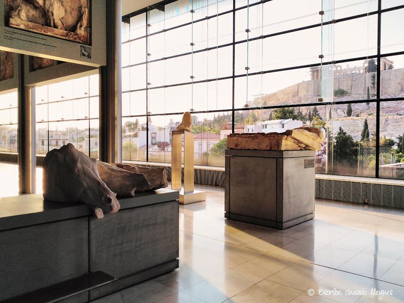 Interior del Museo de la Acrópolis