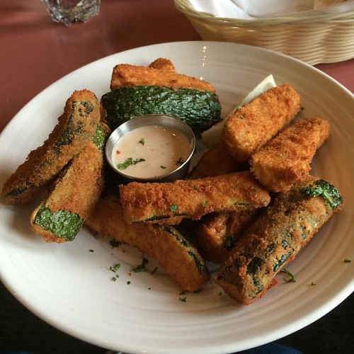 Fried zucchini #yegfood
