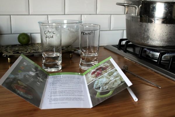 Cheesemaking kit by Misericordia