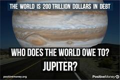 Positive Money Jupiter - secret space programs