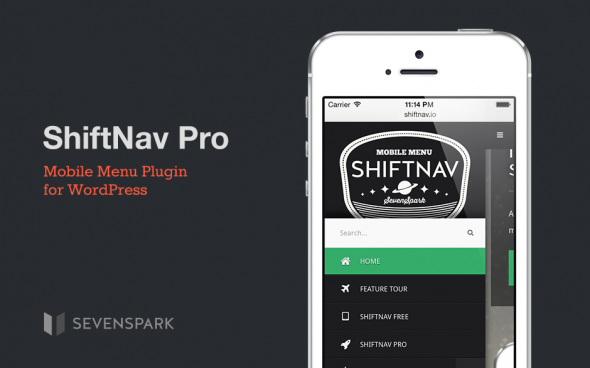 Shiftnav Pro v1.5 - WordPress Mobile Menu