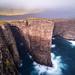 Precipitous   Lake Sørvágsvatn, Faroe Islands by v on life