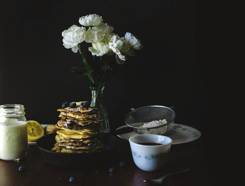 Lemon & Poppy Seed Pancakes