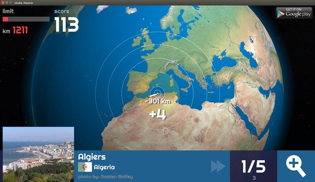 Globe Master 3D - Algiers