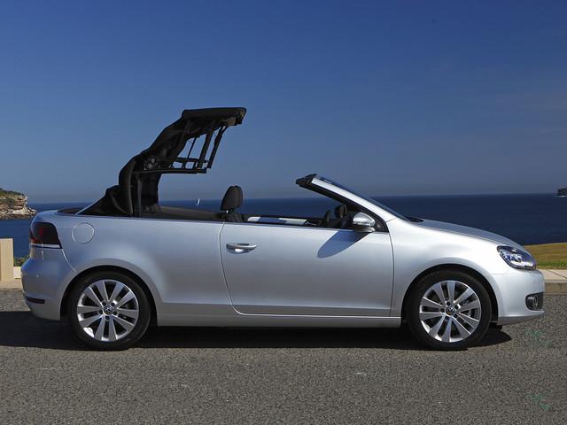 Volkswagen Golf Cabrio (Typ 5K) для рынка Австралии. 2011 год
