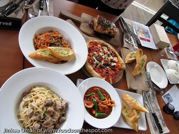 Food Flight at Festival Mall River Park Alabang