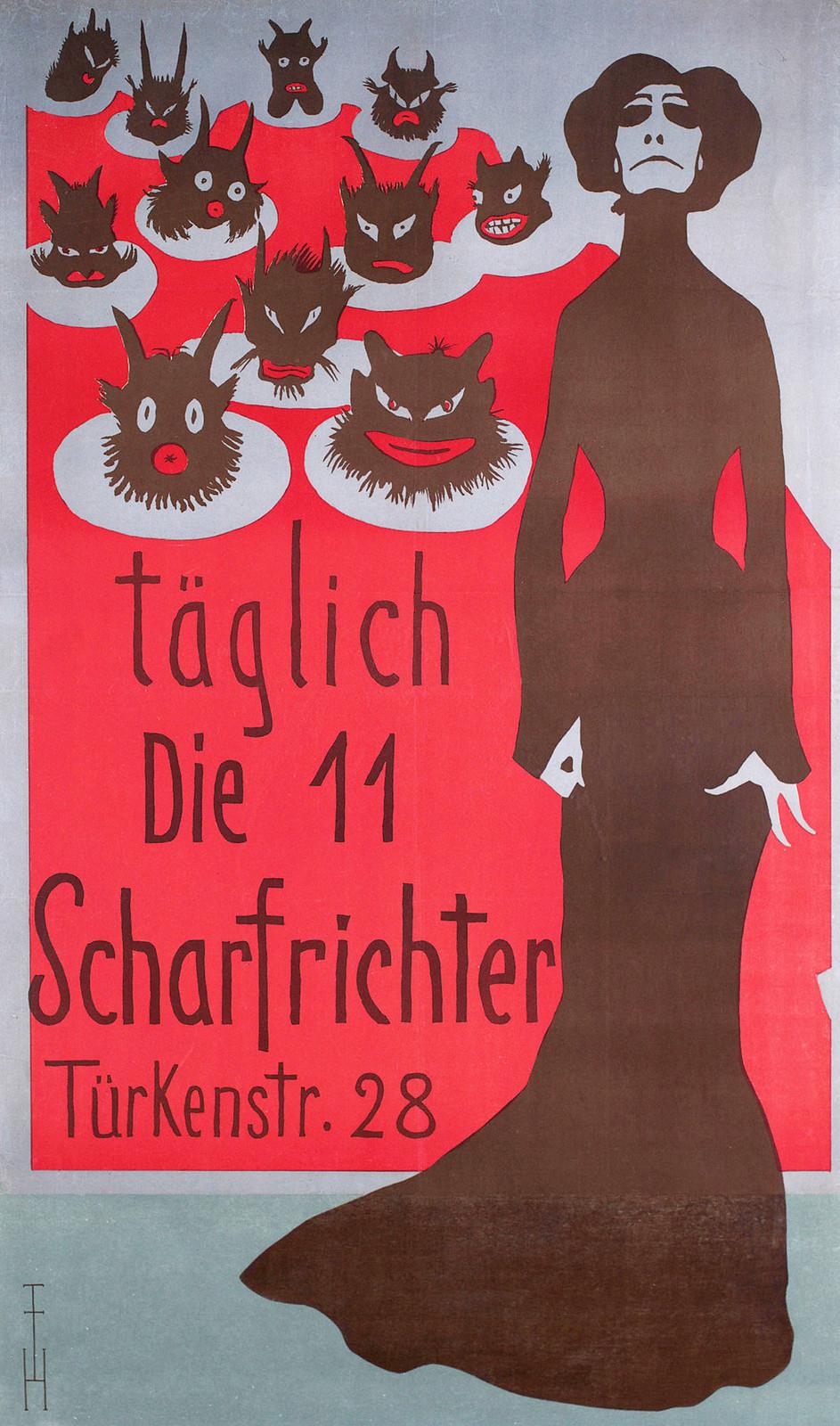 Thomas Theodor Heine - 'Die 11 Scharfrichter', 1901