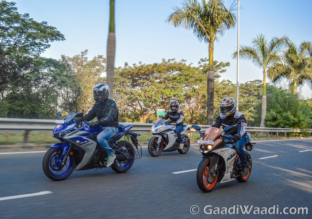 Yamaha R3 vs KTM RC390 vs Kawasaki Ninja300-7