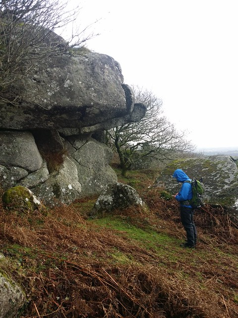 Unnamed outcrop near Ravens Tor