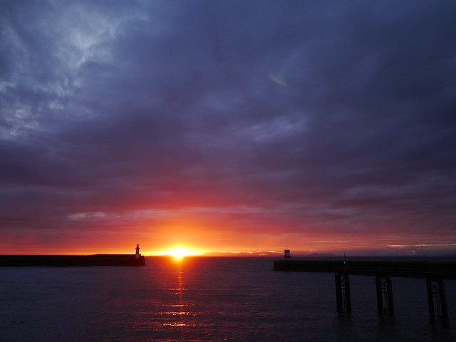 Whitehaven Harbour Sunset, Panasonic DMC-G6, LUMIX G VARIO 12-32mm F3.5-5.6