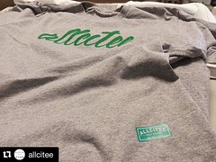 #Repost @allcitee ••• Giveaway ••• Get at us (DM) with size and address... only. The first 10 gets this fresh tee... www.allcitee.com  #allcitee #studio #design #print #illustration #graff #apparel