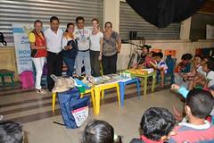 725 niños reciben clases psicosocial emocional en Chone